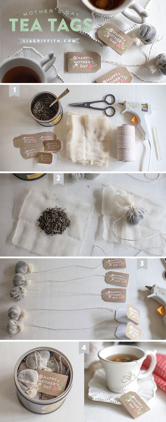 TeaTagsTutorial- Download the Mother's Day- Tea Bag Tags! Makes a nice gift ...