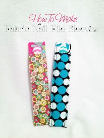 The Almost Perfectionist: Fabric Nail File Sleeve Tutorial