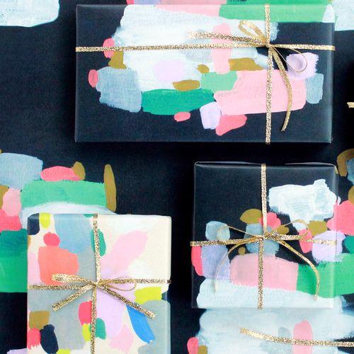 Artistic Moglea wrapping paper
