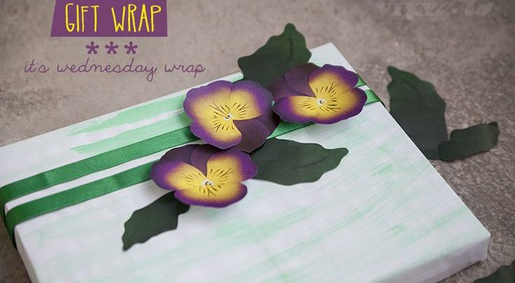 Gift Wrapping Inspiration Diy Flowers In A Box