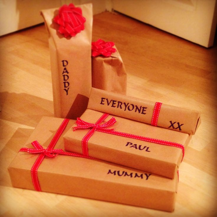 Gift wrapping ideas #presents