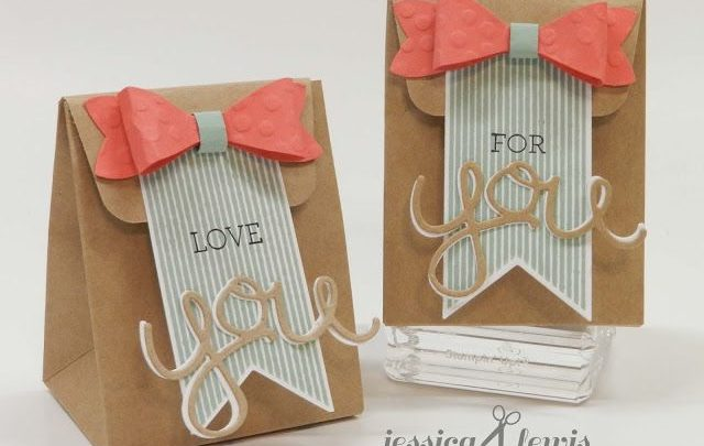 Gift Wrapping Inspiration : Mini gift