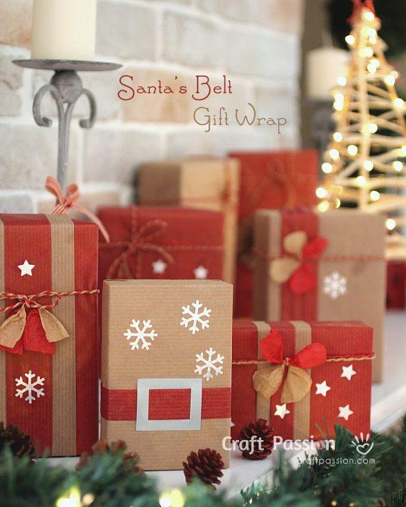 Santa's Belt Gift Wrap
