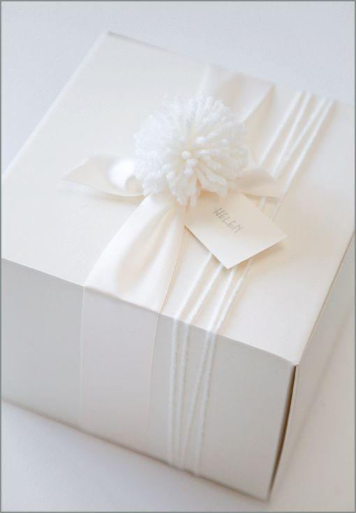 cozy gift wrap