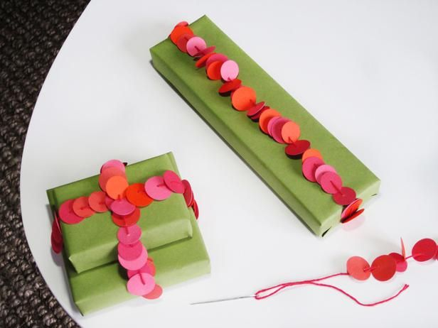 dots in a twine for a lovely gift