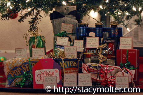 12 Days of Christmas Gifts for Him + Free Printable - Fancy Shanty