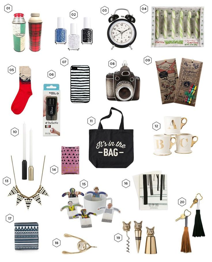 20 gifts under 20 bucks!  via A Beautiful Mess (ft. my leather heart key chains ...