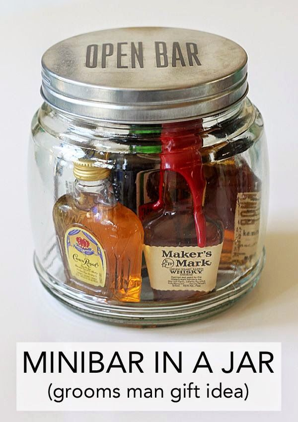 Gifts For Him Best Diy Projects Minibar In A Jar An Easy Gift Idea Giftsmaps Com Leading Gifts Ideas Unique Gifts Inspiration Magazine