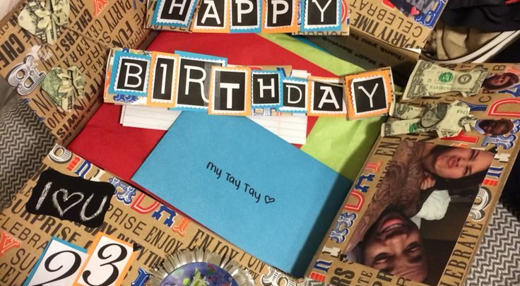 Gifts For Him Birthday Box For Him Have A Long Distance