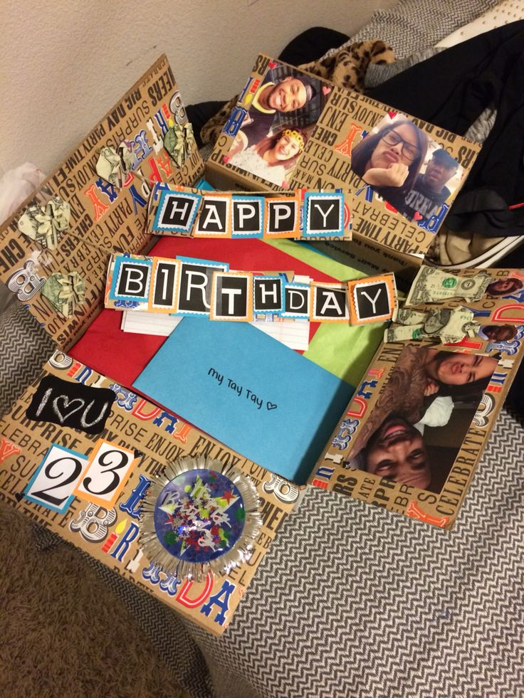 Birthday Box For Him Have A Long Distance Relationship Want
