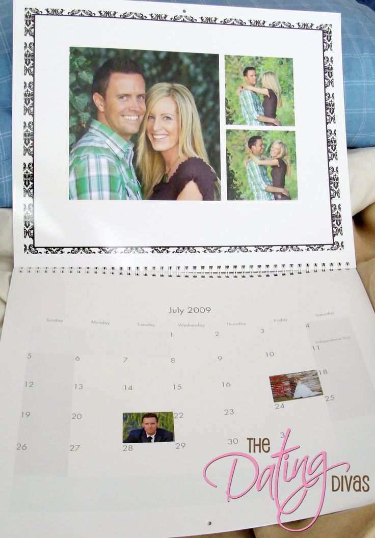 Calendar-Christmas gift for the hubby or the grandparents?