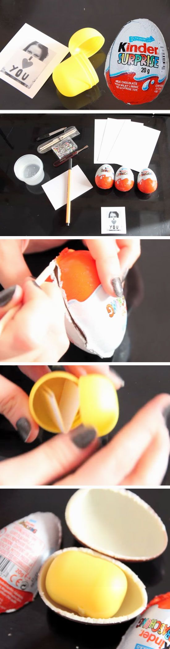 Customized Surprise Egg   23 DIY Valentines Crafts for Boyfriend   DIY Birthday ...