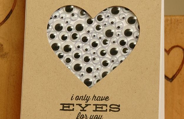 Gifts For Him Diy Valentines Day Cards Lots Of Eyes Valentines