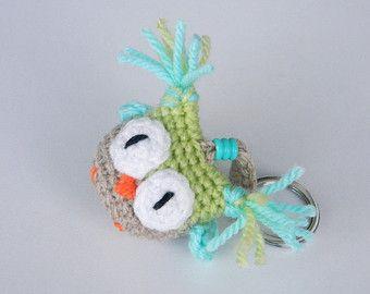 Gift for Cat Lover Handmade Cat Keychain Gift For Him by Etilinki