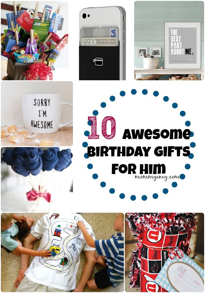 Until then I wanted to give you some gifts for him ideas! These can be Christmas...