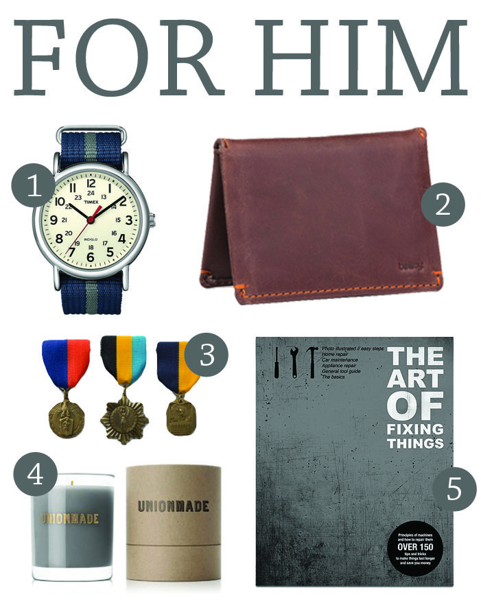gifts for him - awesome ideas from @Darling Magazine