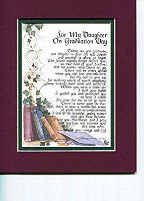 Graduation Gifts : Amazon com: For My Daughter on Graduation
