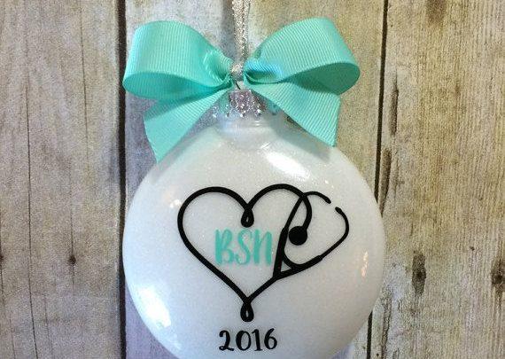 Graduation Gifts Bsn Gift For Nurse Nurse Ornament