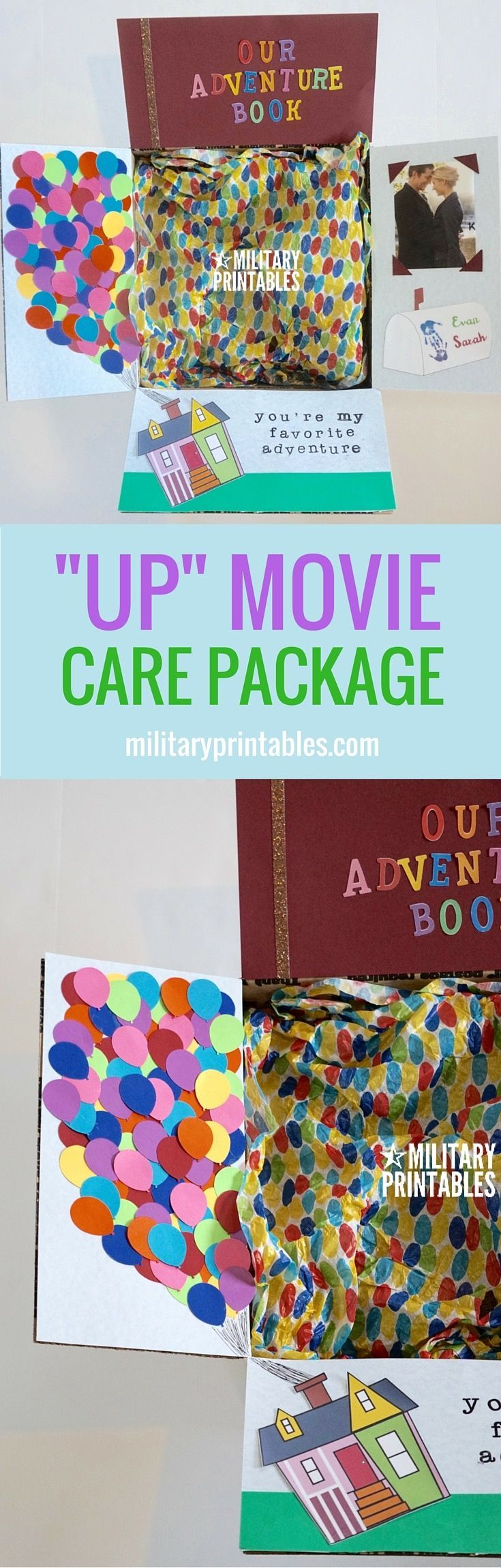 Care Package Idea from the Disney Movie