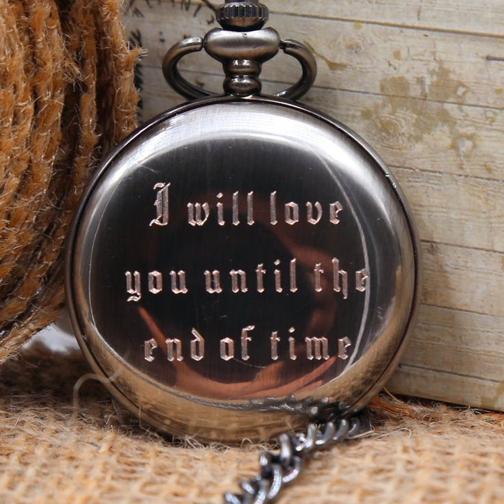 Classic Engraved Men's Pocket Watch - Personalized Wedding gift, Graduation ...