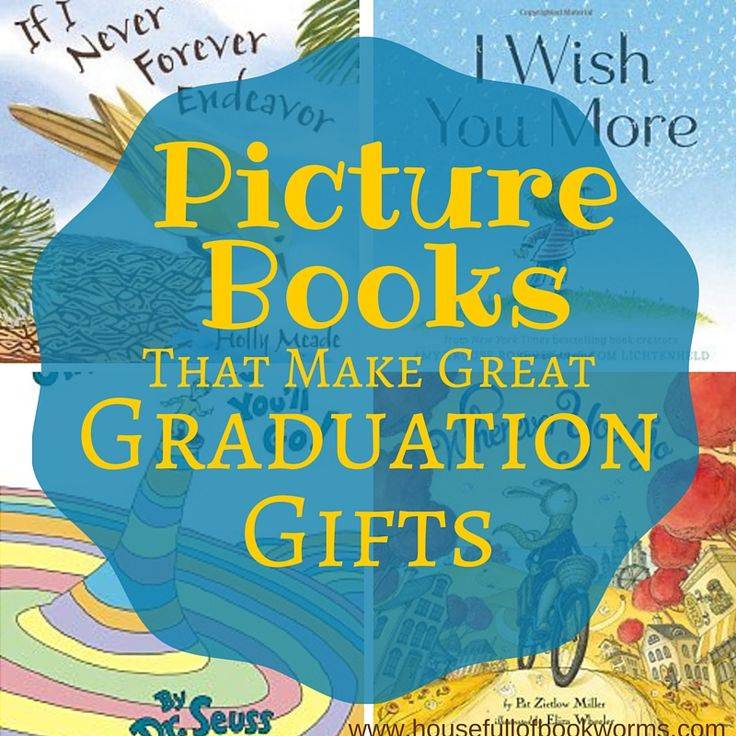 Giving picture books for graduation gifts is a great way to memorialize the occa...