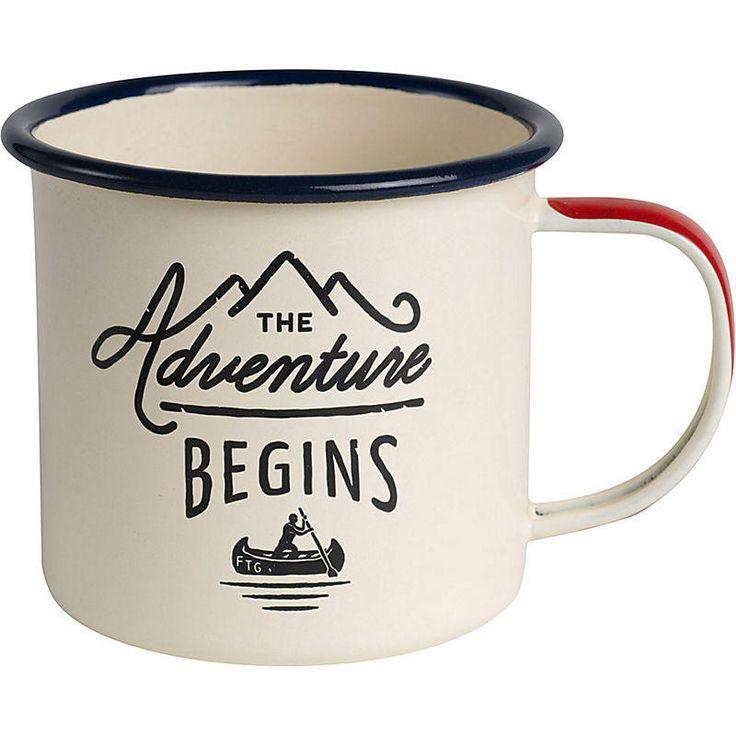 Graduation Gift Ideas: Adventure Enamel Mug