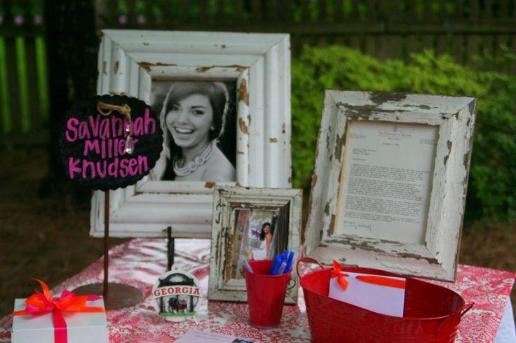 Graduation Gift Table Idea :) Cute!