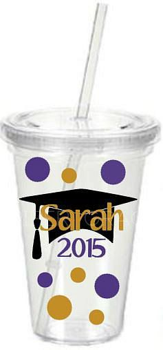 Graduation Tumbler Graduation Cup Gift for by PiperGraceGifts
