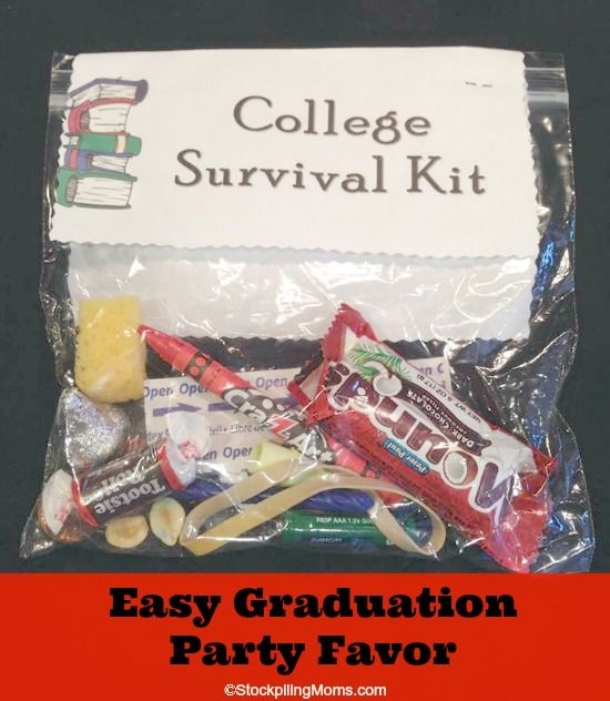 Graduation Gifts It Is An Inexpensive Party Favor And Fun Too