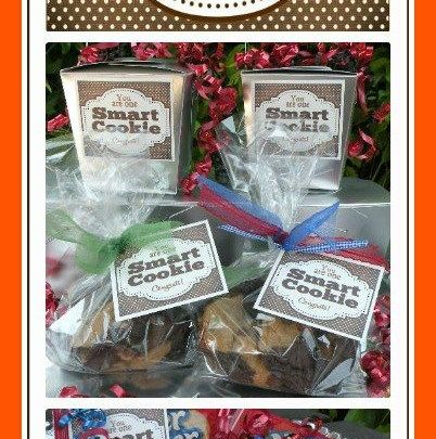 image regarding You're One Smart Cookie Printable named Commencement Presents : By yourself Are Just one Clever Cookie Printable Tags