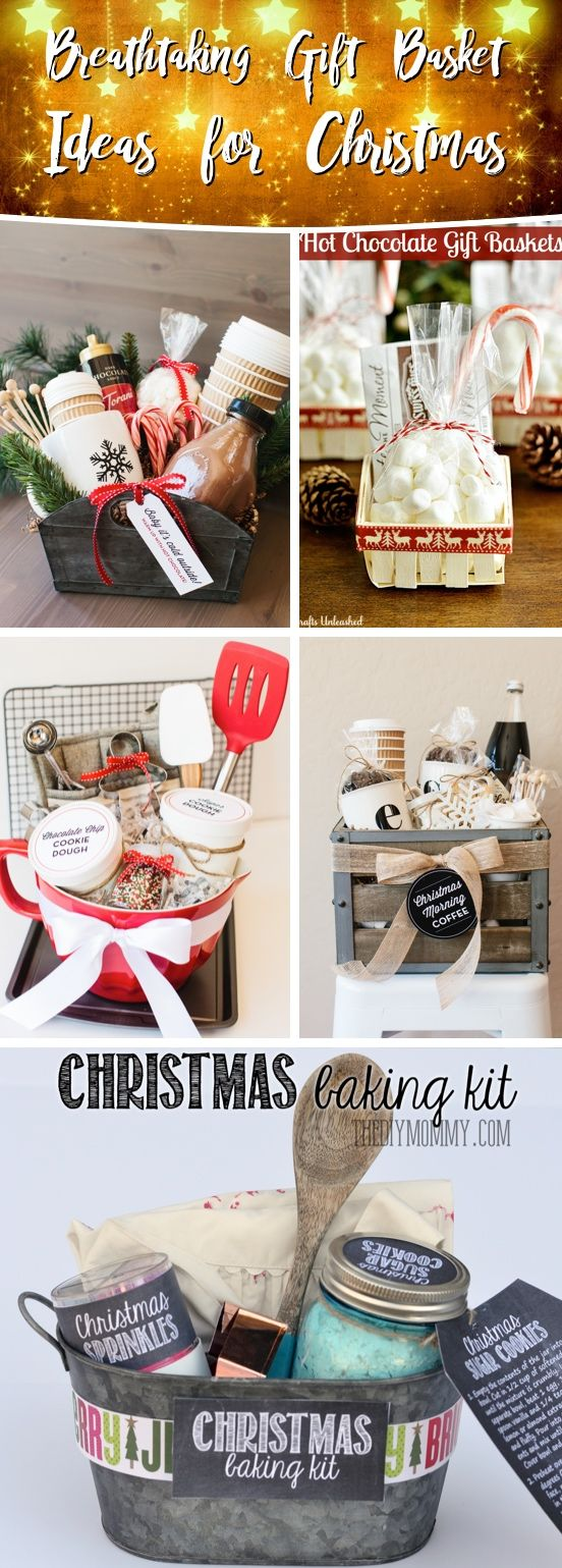 25 Breathtaking Gift Basket Ideas for Christmas That Are Sure To Come Out a Winn...