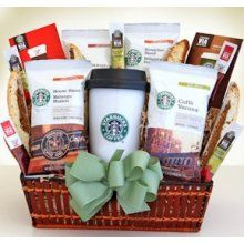 A Starbucks Gift Basket was added to the SILENT AUCTION (it was so much of a sur...