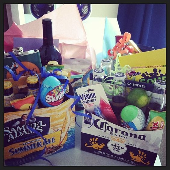 Adult Easter Basket    Who says Easter baskets are only for little kids? Give yo...