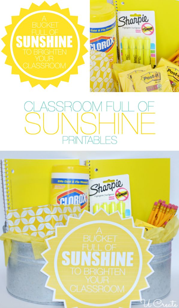 picture about Basket of Sunshine Printable titled Basket Presents : Bucket complete of sunlight reward principle for