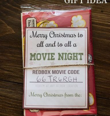 Basket Gifts : Did you know you can buy Redbox gift codes? This is