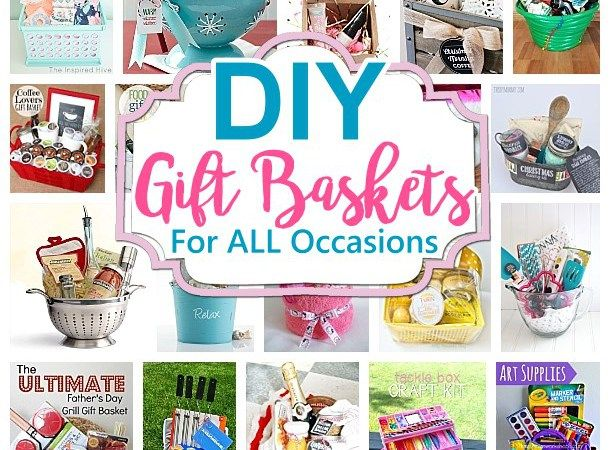 Do it Yourself Gift Baskets Ideas for All Occasions - Perfect for Christmas - Bi...