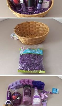 Christmas Gift Sets Diy.Basket Gifts Dollar Tree Spa Set Diy Mothers Day Gift