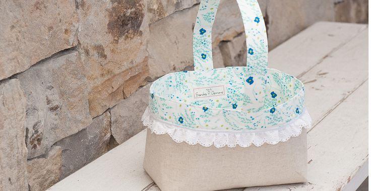 Easter Fabric Basket • WeAllSew • BERNINA USA's blog, WeAllSew, offers fun...