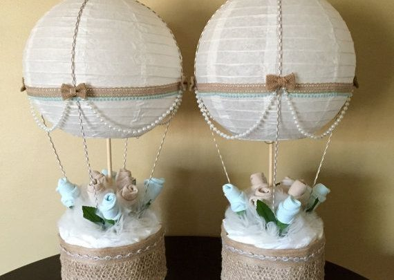 Basket Gifts Elegant Baby Gift Basket Idea Hot Air Balloon Baby