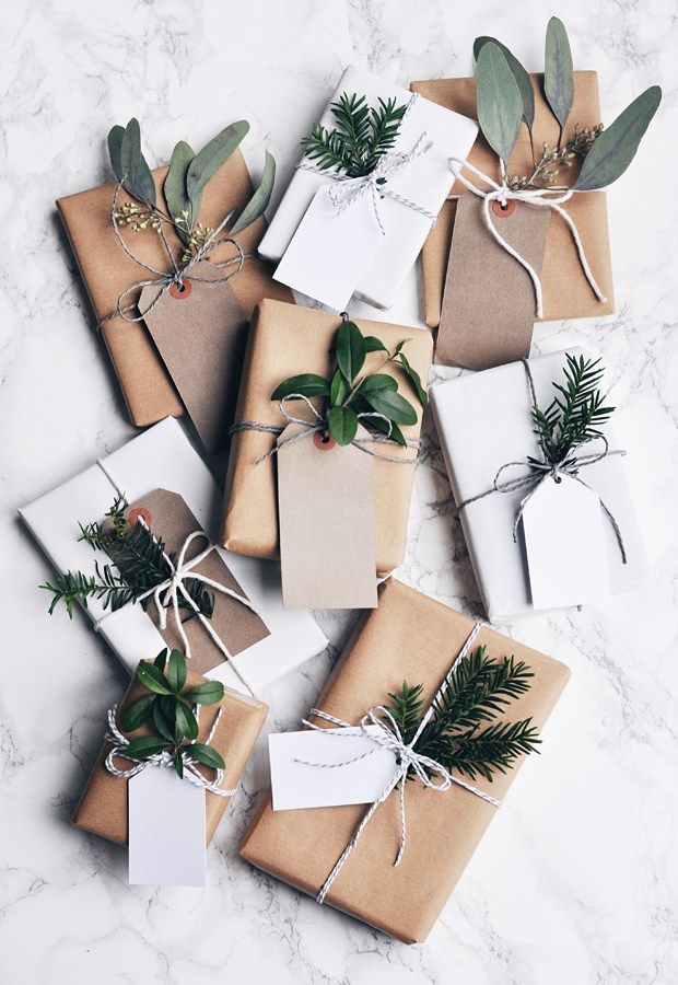 Festive wrapping inspiration