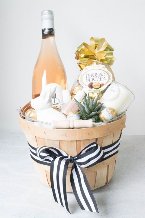 Headed elsewhere for your Easter celebration? Show up with this Easter basket fi...