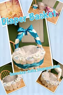 Hey-low lovelies!   I thought I'd share with you guys how I made my diaper b...
