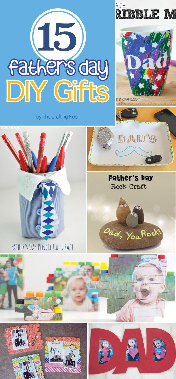 Looking for ideas to make awesome Father's Day DIY Gifts? I'm sure these...