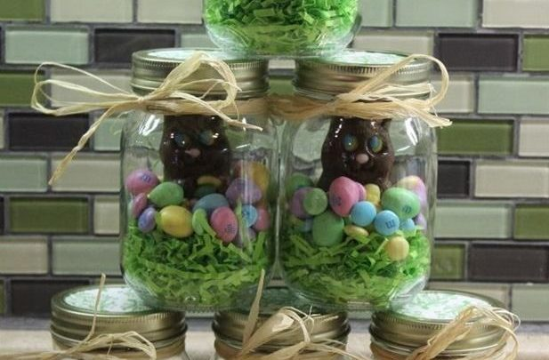 Basket Gifts Mason Jars Make Excellent Easter Egg Basket Alternatives Are Great For Home Dec Giftsmaps Com Leading Gifts Ideas Unique Gifts Inspiration Magazine