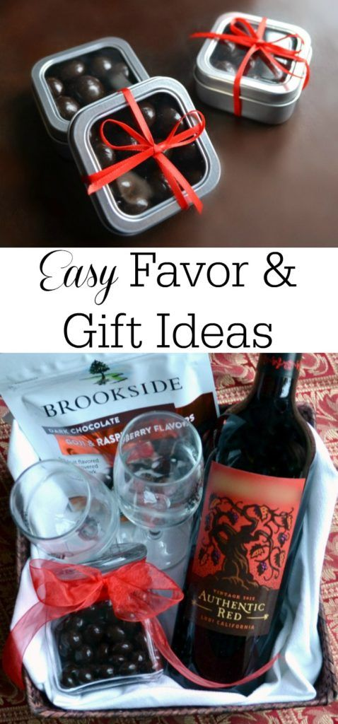 Putting together party favors your guests will love or gifts that your friends w...