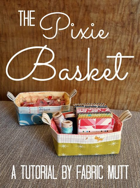 Say hello to your new favorite quick project! This cute basket is the perfect si...