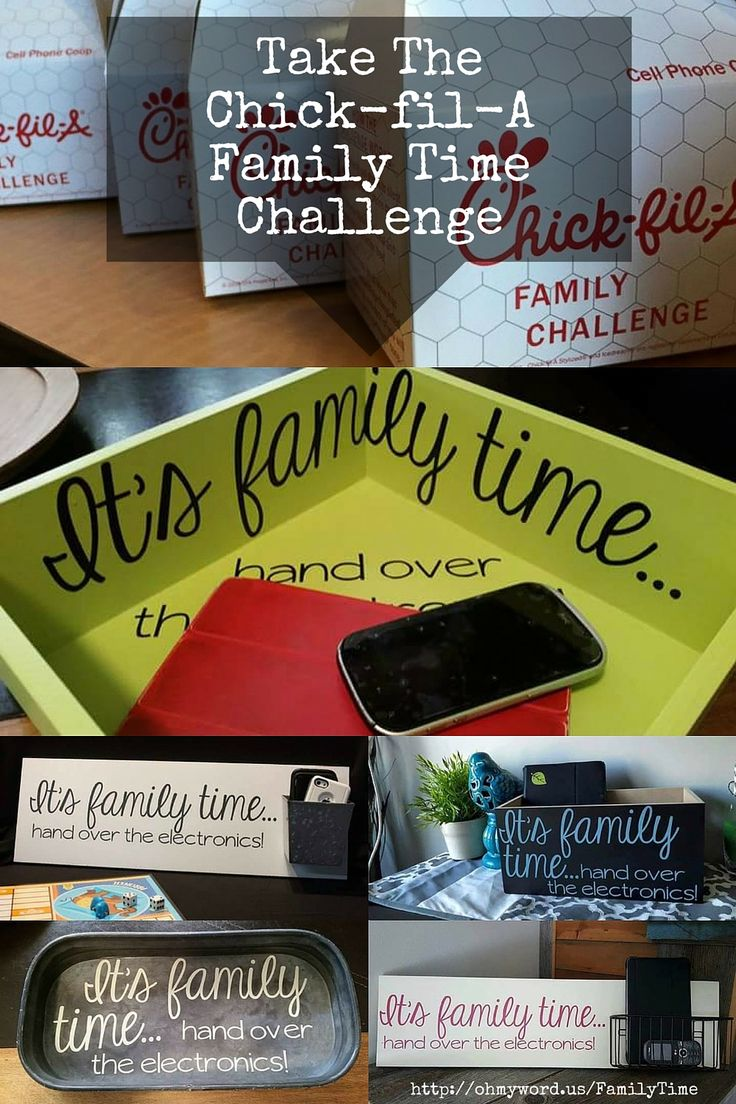Take the Chick-fil-A Family Time Challenge by making your own