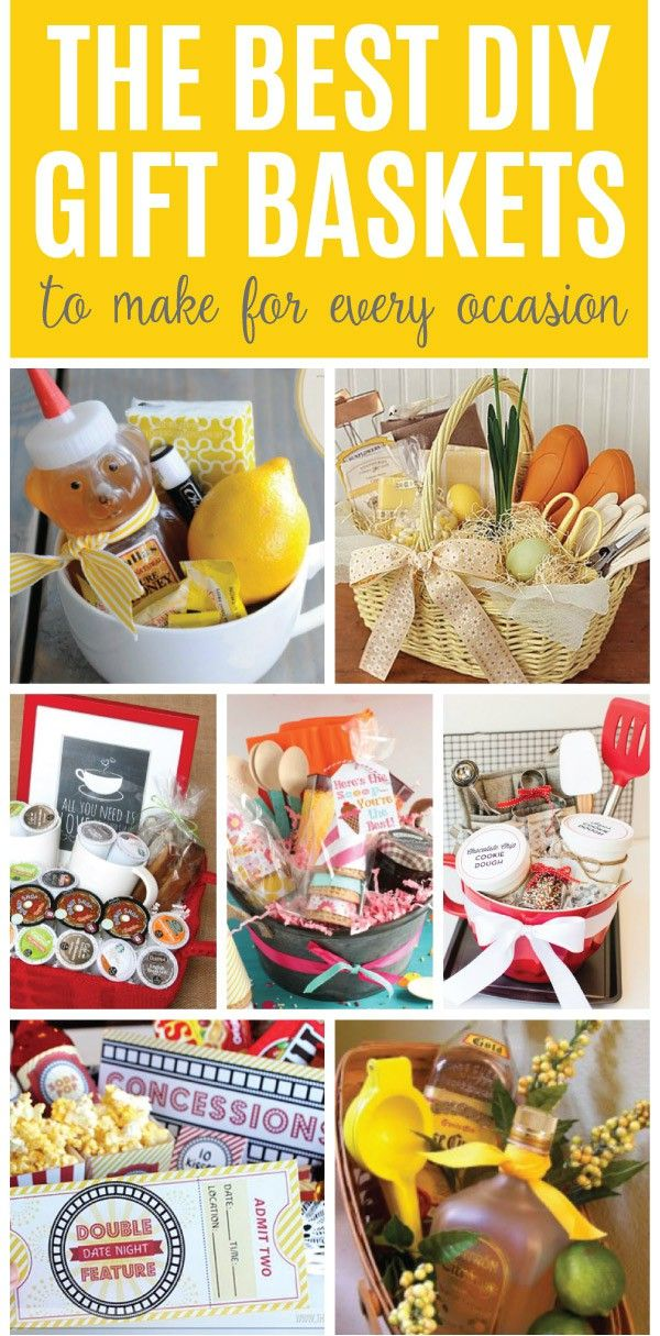 These DIY gift baskets are easy, personal and sure to be a hit. Check out these ...