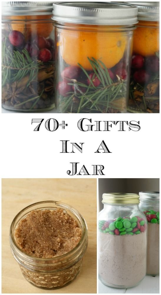 These Mason Jar gift tutorials that are perfect when you need to make a lot of l...