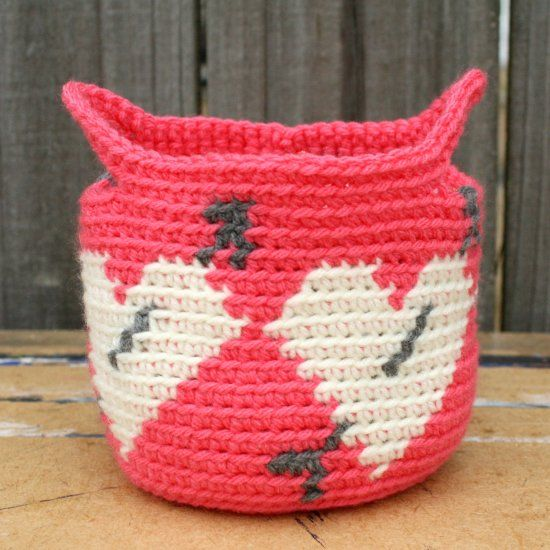This basket is for a fun decoration around the home, on your desk at work, makes...